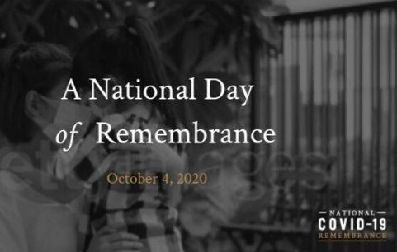 National Covid-19 Day of Remembrance