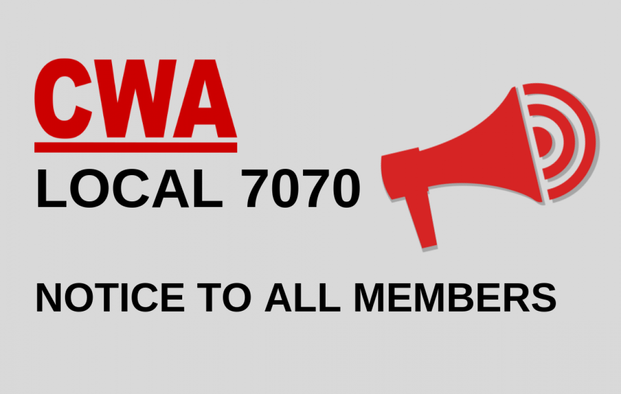 Notice To All Members