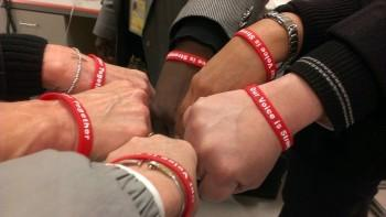 Red Wristbands for Mobilization